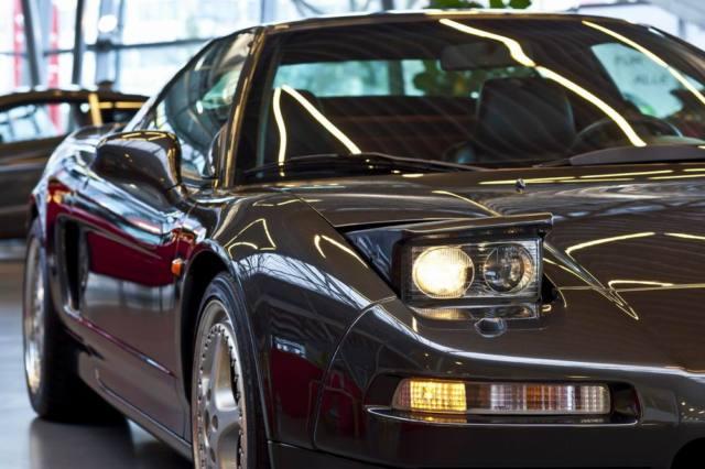 Honda NSX Youngtimer Anschnitt Front