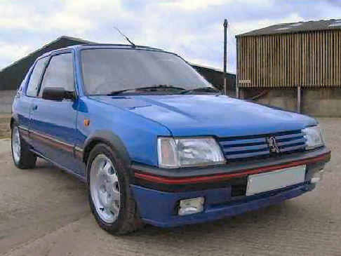 Peugeot 205 Youngtimer